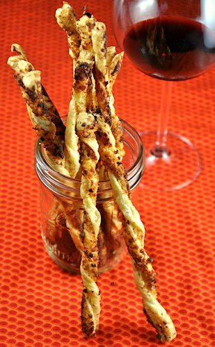 Spicy Cheesy Parmesan Pecorino Cheese Straws Recipes