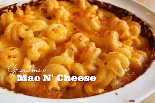 Grandma's Macaroni and Cheese Recipe