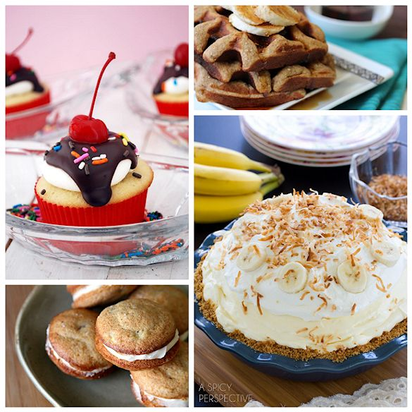 Tasty Banana Recipes