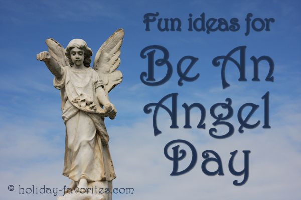 Fun Ideas for Be an Angel Day