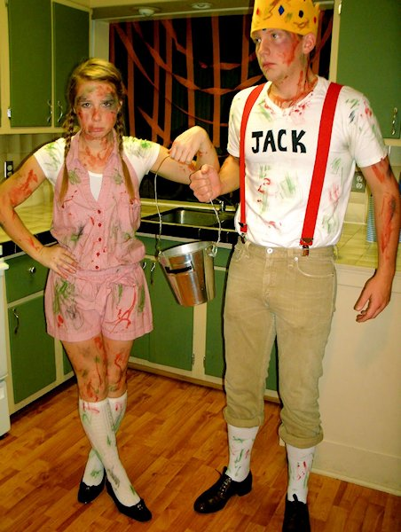 Jack and Jill after the Hill Costumes