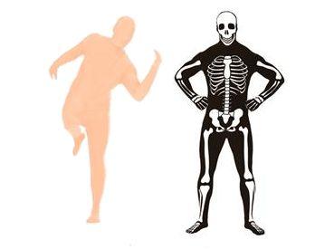 Skin and  Bones Costume