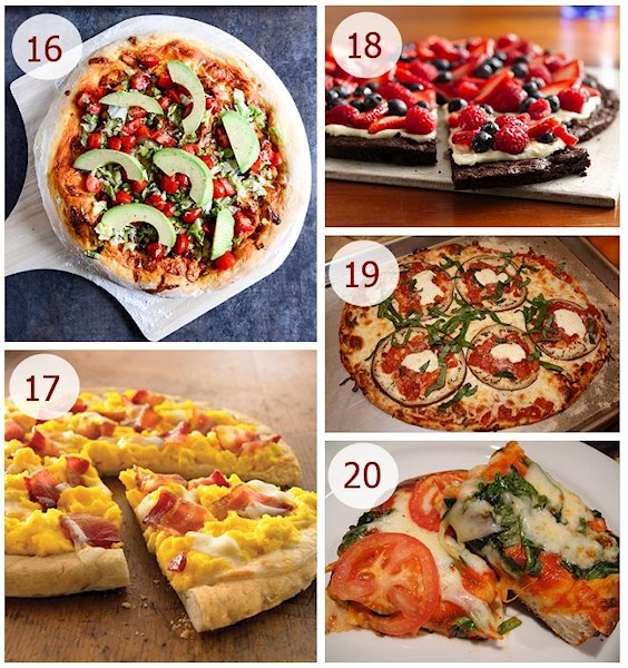 national pizza month recipes