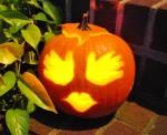 Hand Carved Jack-O-Lantern