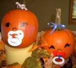 Baby Pumpkin Ideas from Ideas by Krista