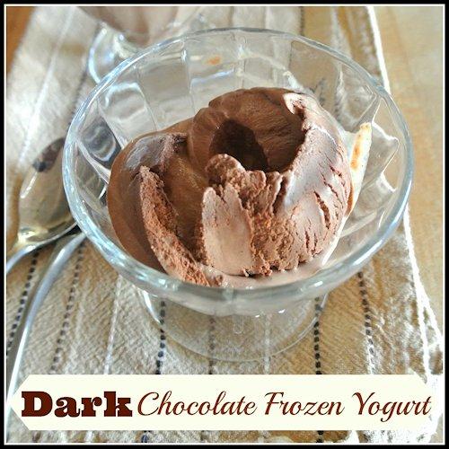 Dark Chocolate Frozen Yogurt