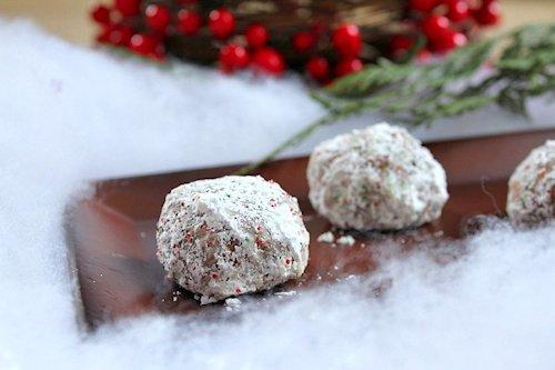 Chocolate Snowball Cookie