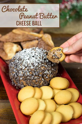Chocolate Peanut Butter Cheese Bal