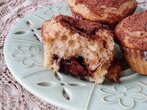 Cocoa Sugar Crusted Muffins