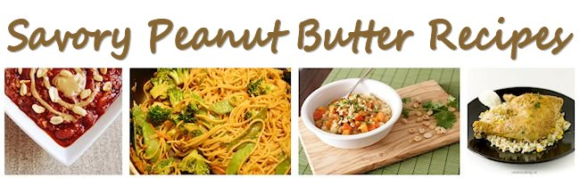 Savory Peanut Butter Recipes