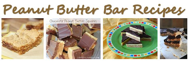 Peanut Butter Bars Recipes