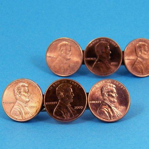 Coin Barrettes