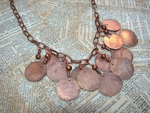 Flatttened Penny Necklace