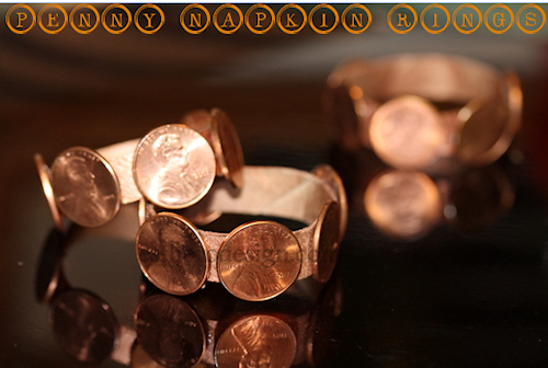Penny Napkin Rings