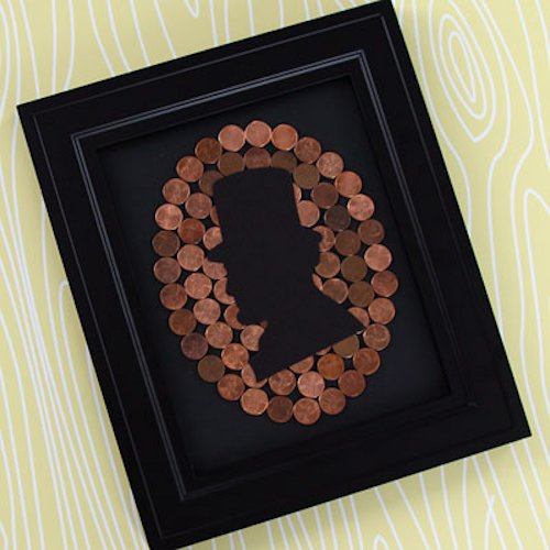 Priceless Pennies Lincoln Silhouette