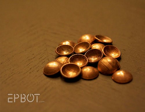 Rounded Penny Buttons