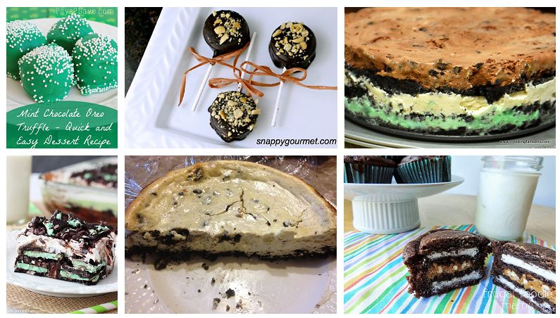 2 oreo recipes