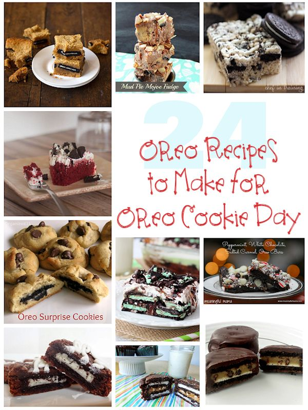 24 Oreo Recipes to Make for Oreo Cookie Day