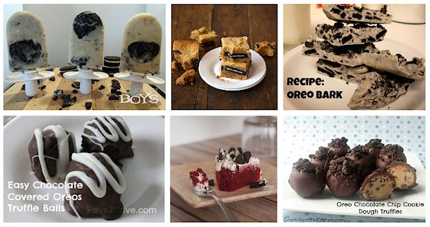 4 oreo recipes