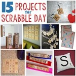 15 projects for scrabble day 250