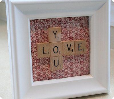 Love You Plaque