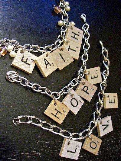 Scrabble Bracelet