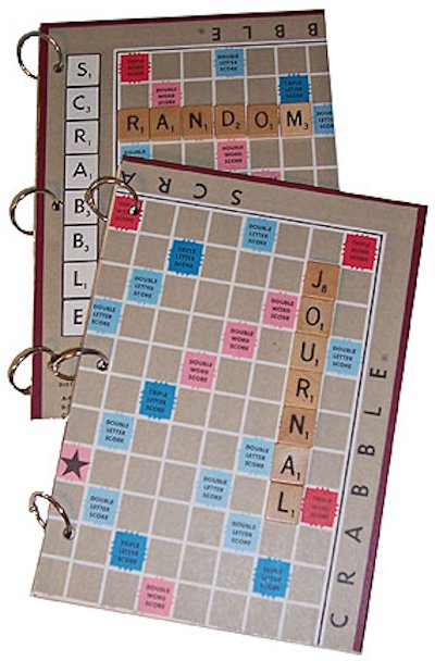 Scrabble Tile Journal