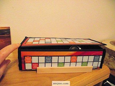 Scrabble Board Treasure Box