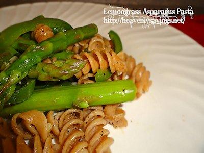 Lemongrass Asparagus Pasta