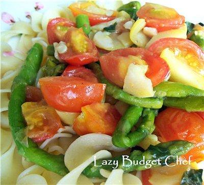 Asparagus and Tomato Saute