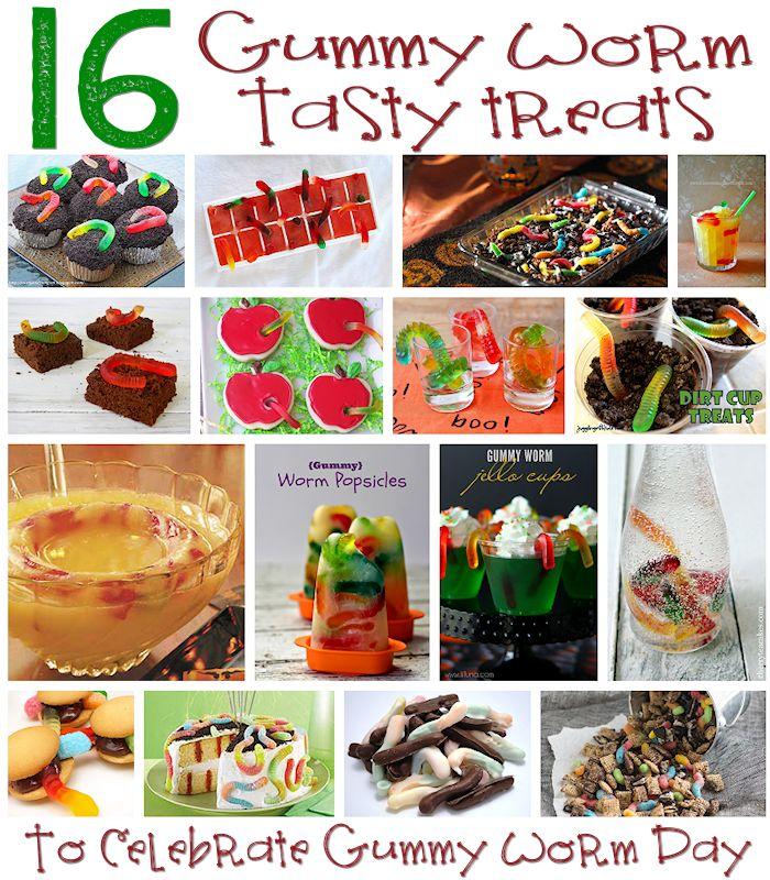 16 Sweet Ways to Celebrate Gummy Worm Day