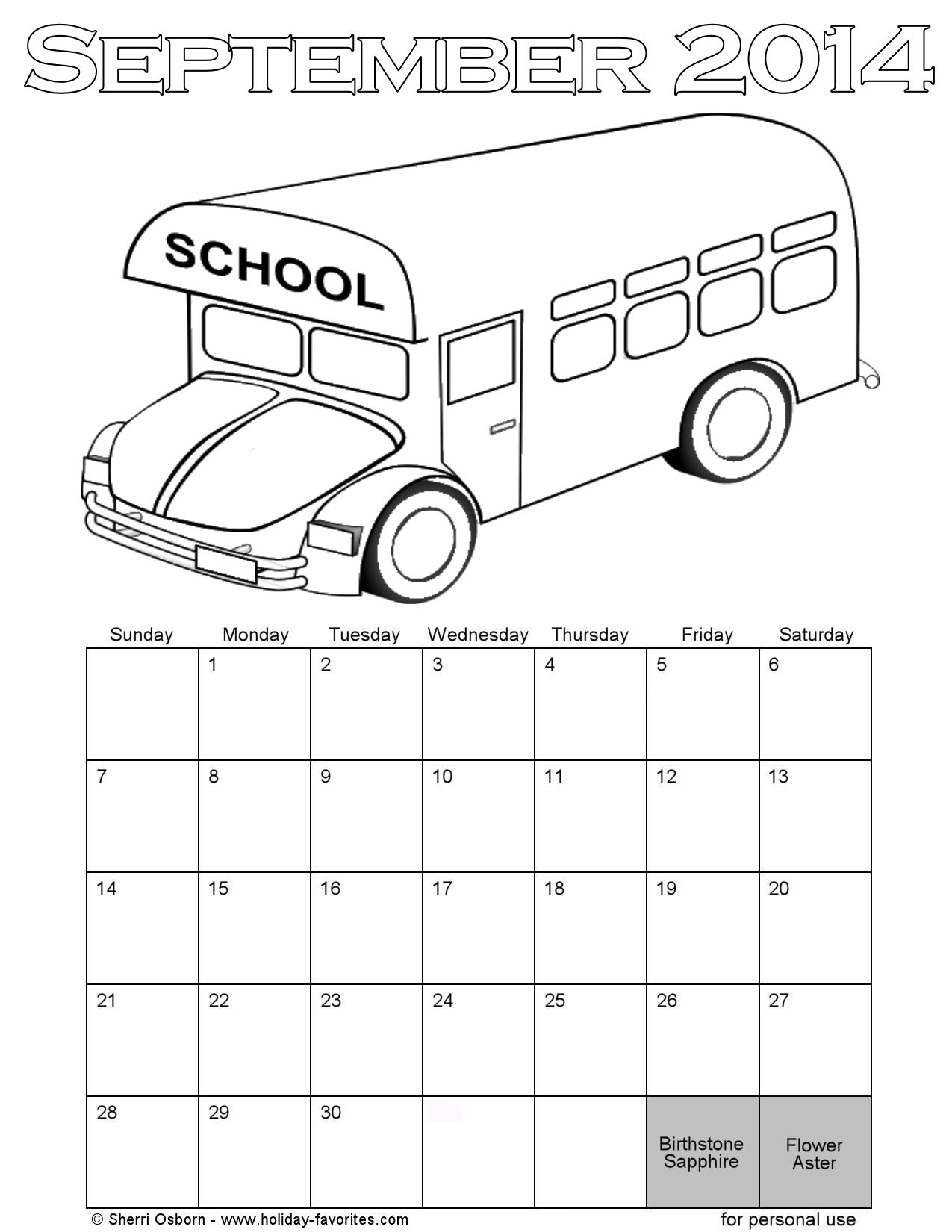 Free Coloring Pages Of Schedule
