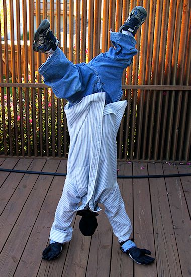 Upside Down Man Costume