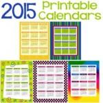 Free 2015 Printable Calendars 250