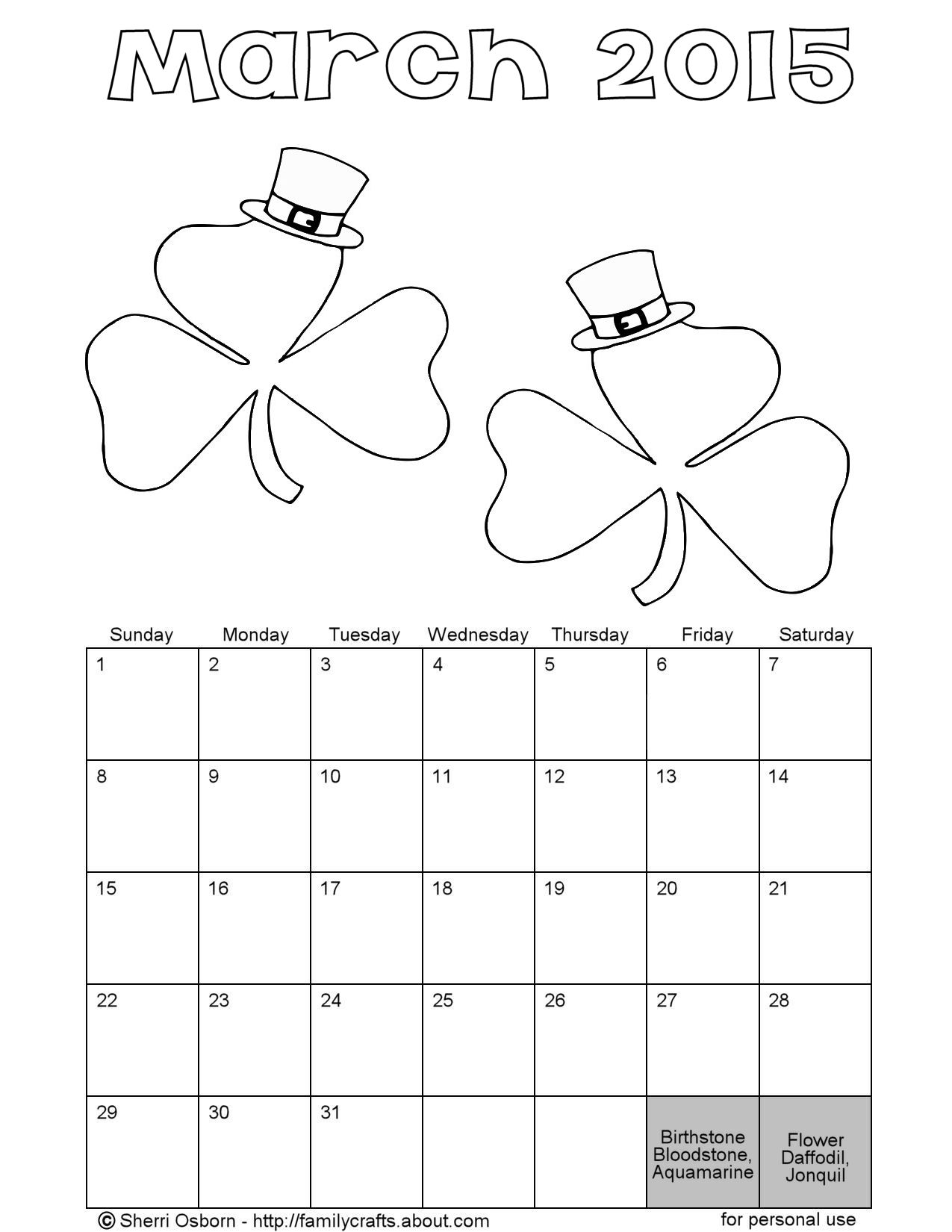 printable march coloring pages - photo#26