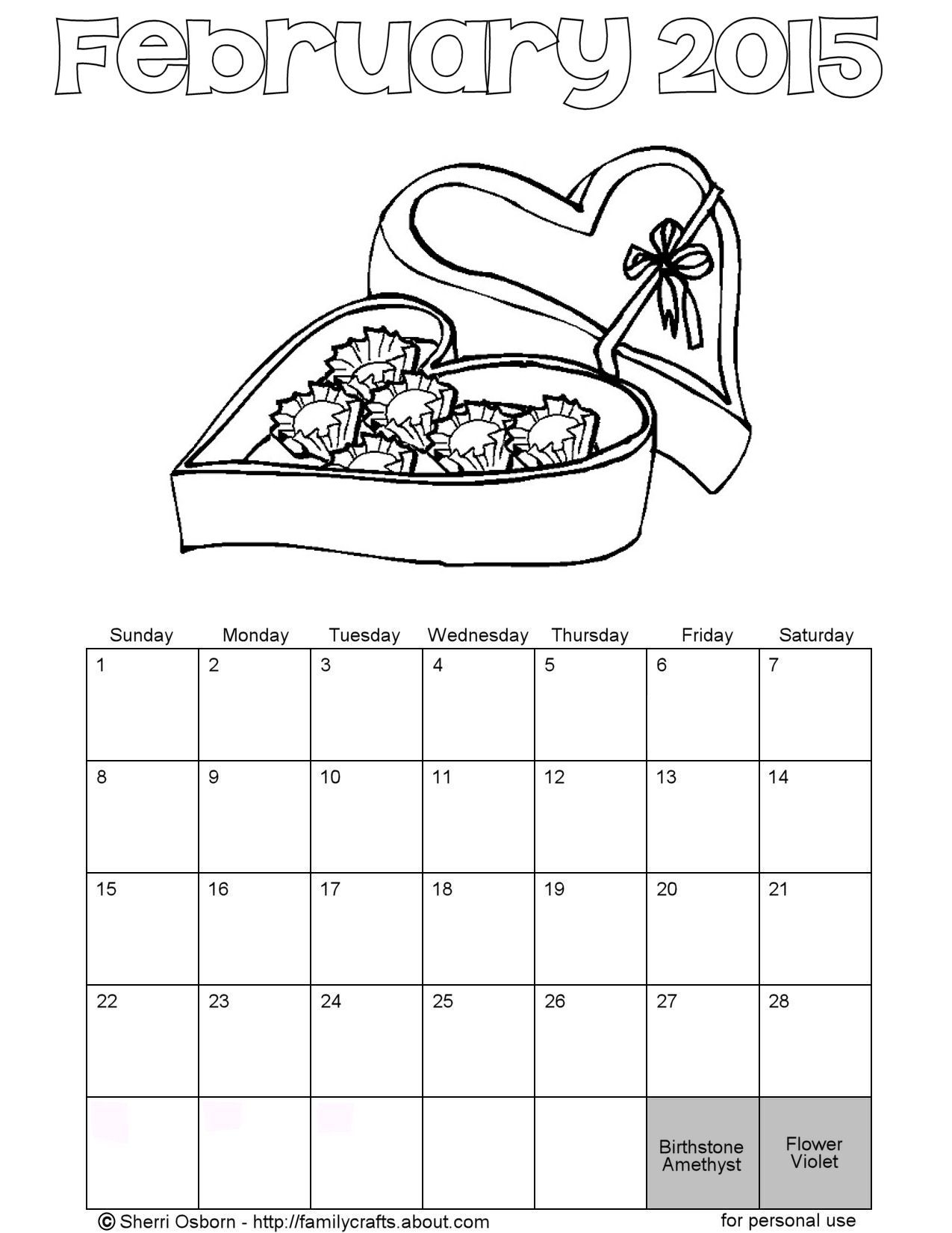 2015 Calendar Coloring Page Images Reverse Search