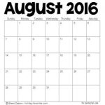 August 2016 HOlidays and Special Days 250