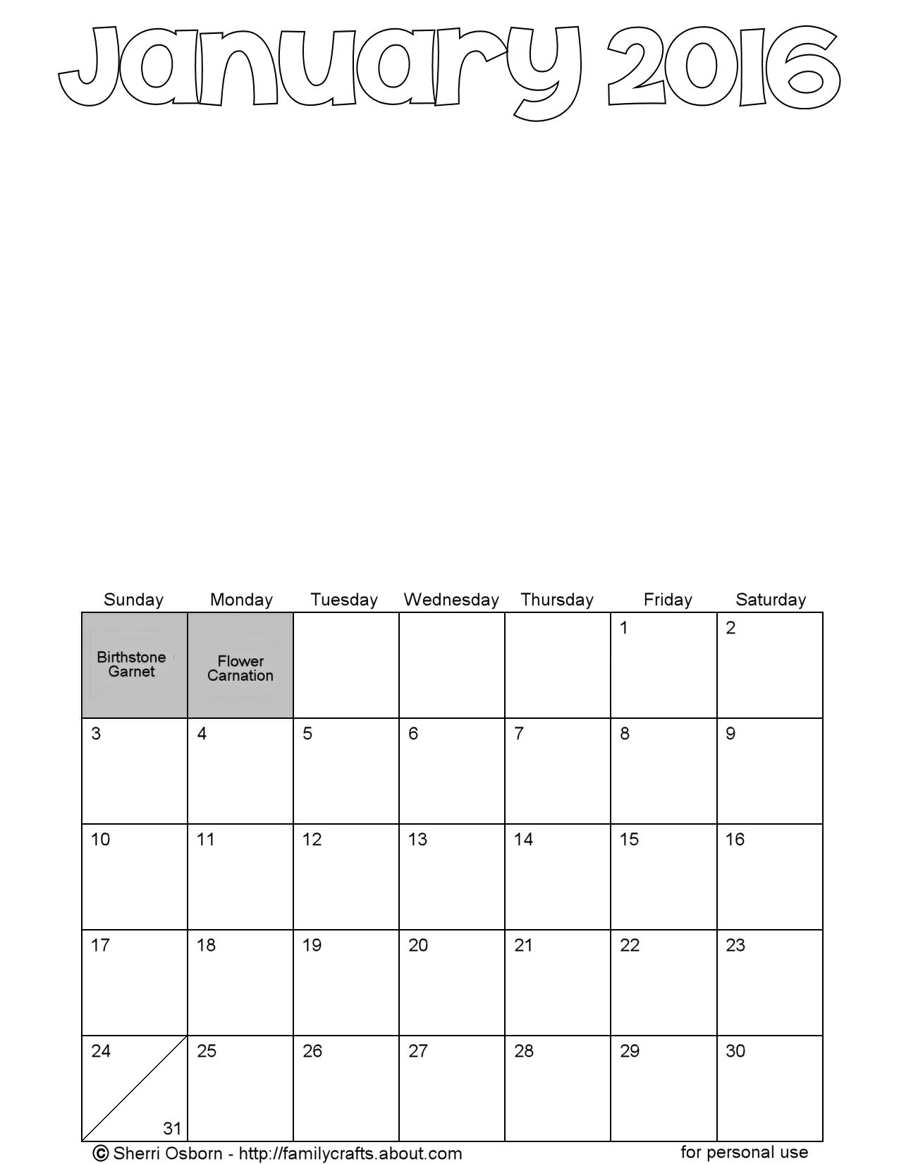 Blank Calendar With Room To Write : Yearly calendar with room to write free autos post