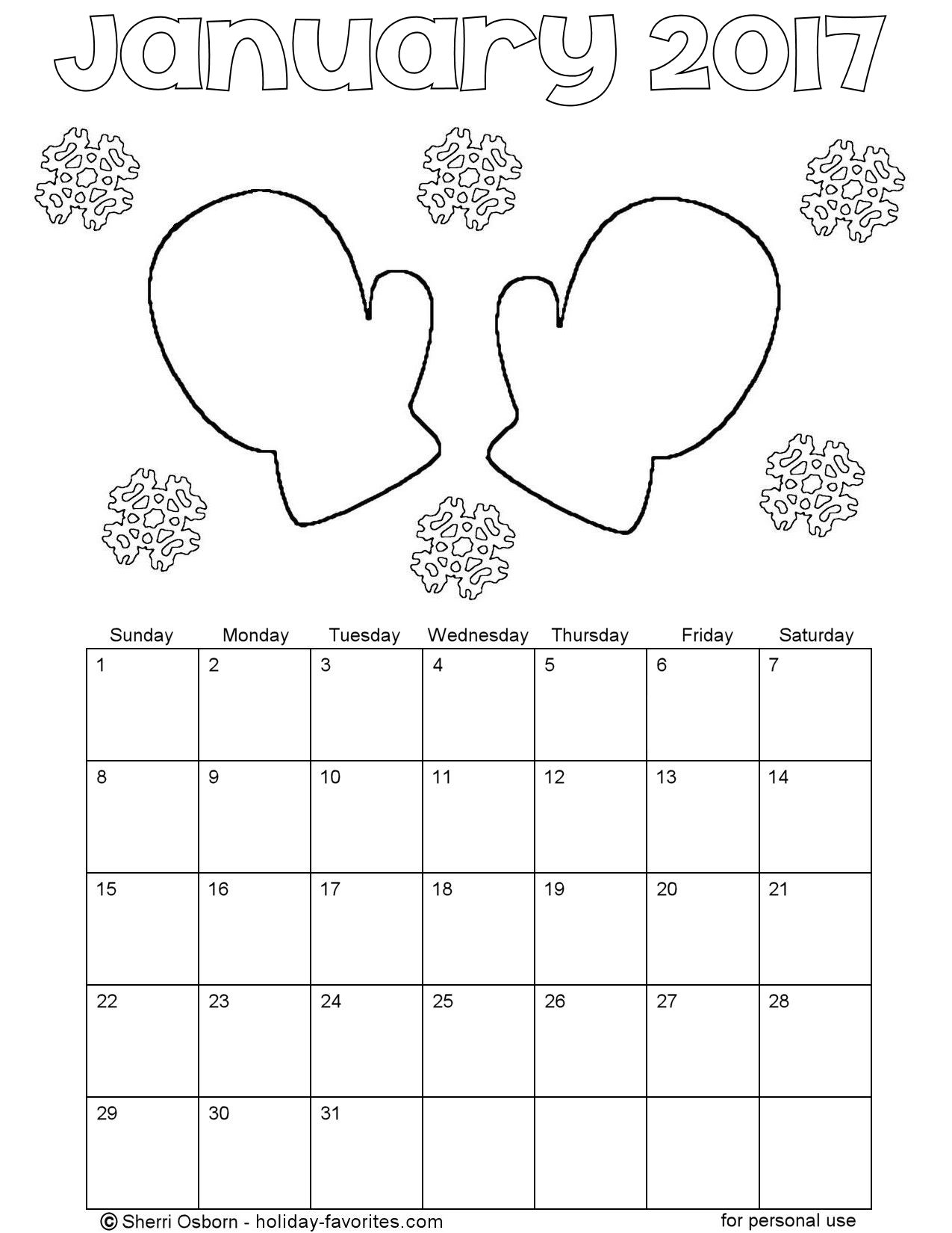 january coloring pages lesson plans - photo#14